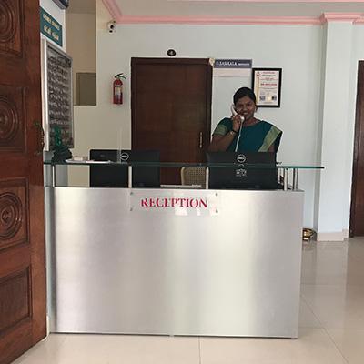 aarogya clinic Reception
