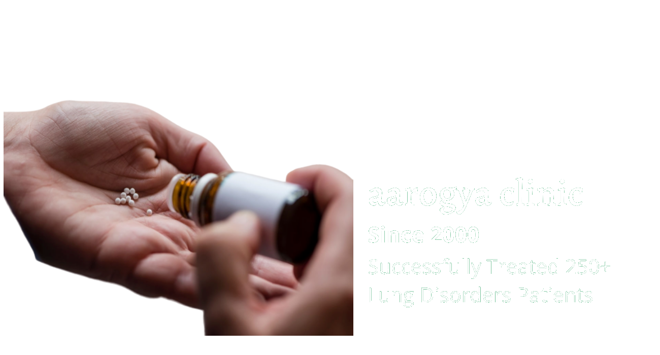 Lung Disorders Treatment in Homeopathy